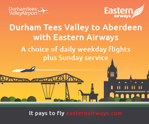 Durham Tees Valley Airport (Eastern Airways)
