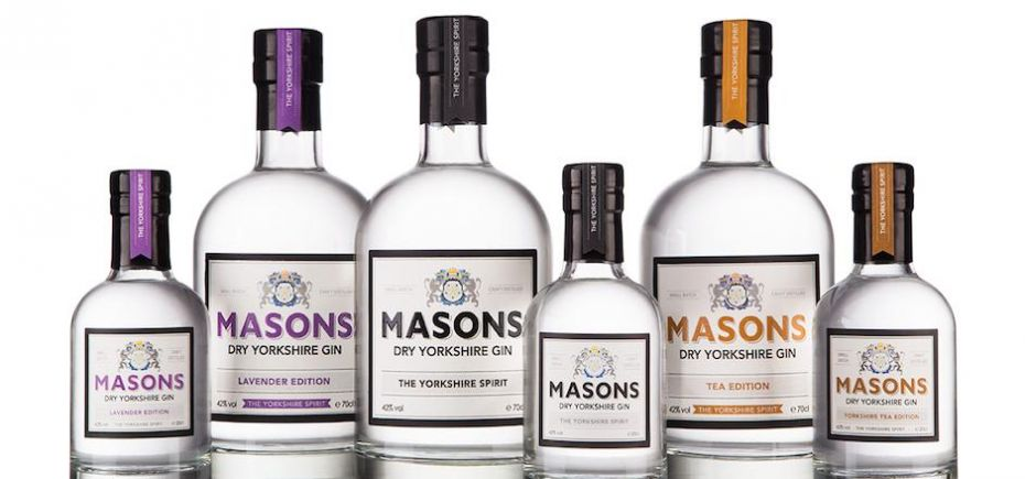 Masons Yorkshire Gin has reported a 100% increase in sales since last year.