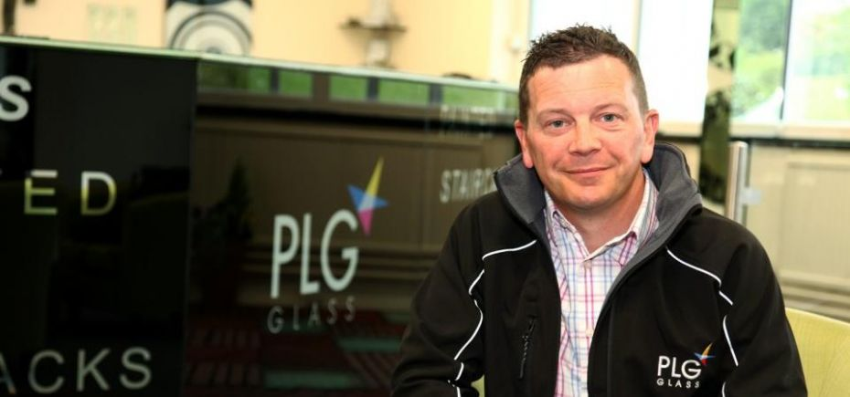 Graeme Hawes, managing director of Peterlee Glass