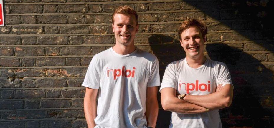 Inploi's co-founders Alex Hanson-Smith and Matthew de la Hey.