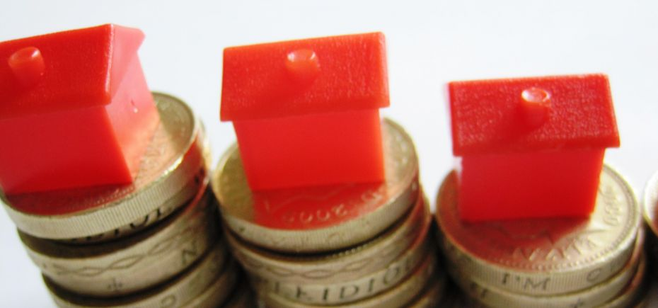 British housing market going down