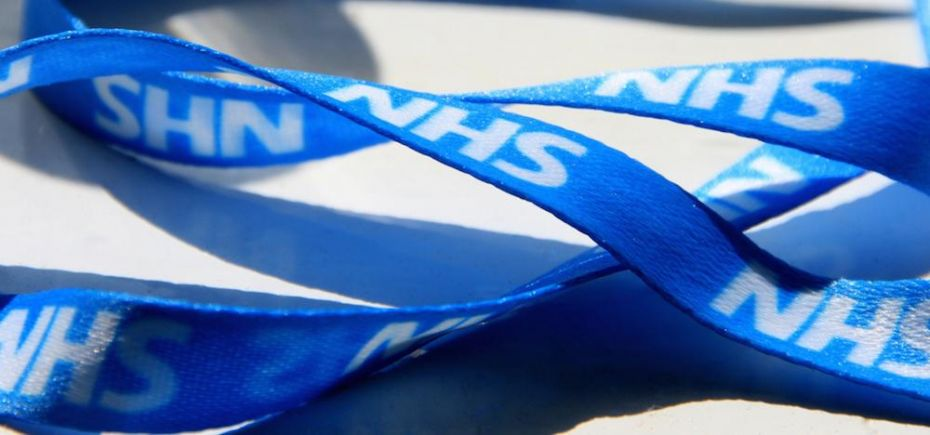 NHS lanyard. Source: Flickr / Pete