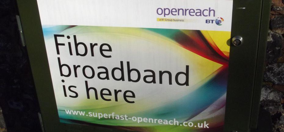 Fibre broadband is here - Ampton Road, Edgbaston