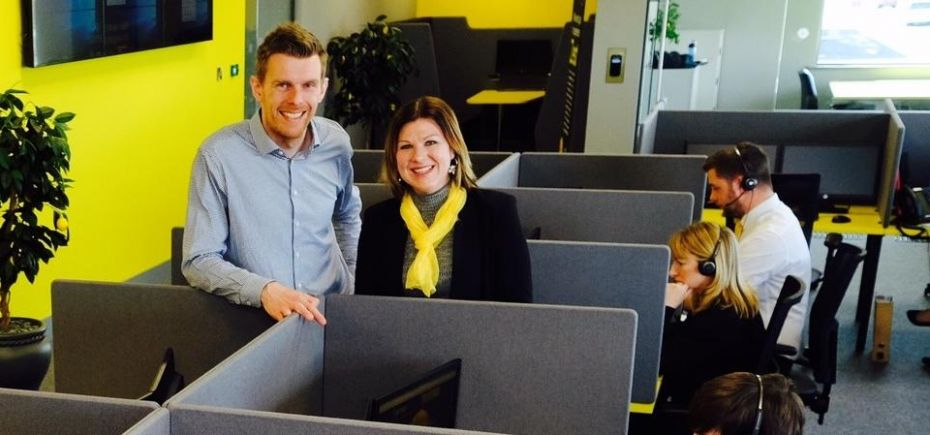 Zesty office furniture for Stockton call centre business ...