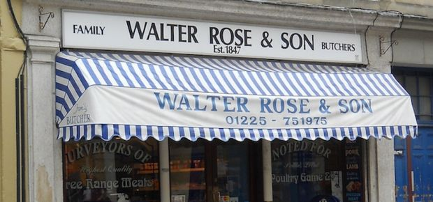 walter rose & son family butchers Est. 1847