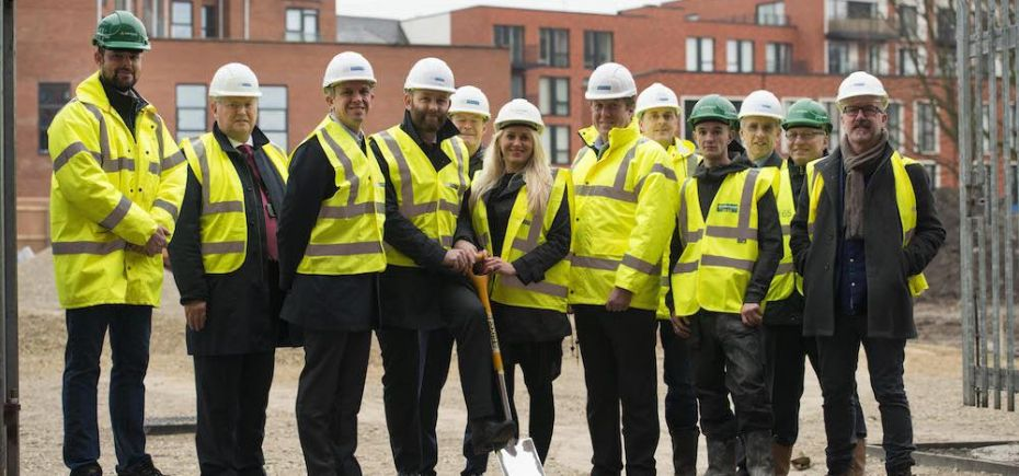 ECf is delivering the scheme in conjunction with Salford City Council