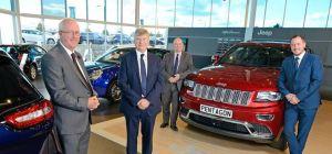 David Mitchell (The Royal Bank of Scotland), Trevor Reeve (managing director of Pentagon), David Hug