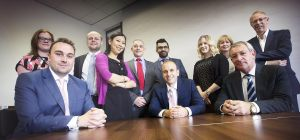 The corporate finance team at UNW