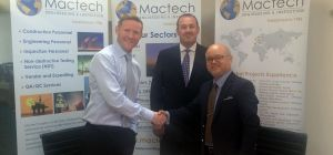 L to R: Andrew McFarlane - Mactech Managing Director, Simon Thorne - Mactech General Manager and Ung
