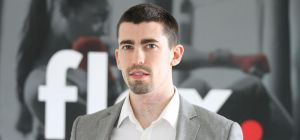Elliott Perry, co-founder of live streaming fitness startup Flex.