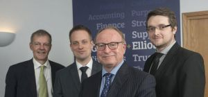 Richard Feltham (partner), Nick Barker (manager), Tony Farmer (partner), Steve Garbett (manager).