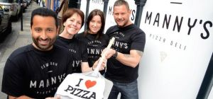 Entrepreneur Olly Henderson has launched a New York-style pizza deli in Newcastle City Centre, Manny