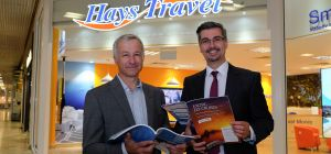 Peter Robinson and Adam Wood at the new Hays premises at the Metrocentre