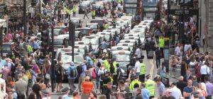 London anti-Uber taxi protest June 11 2014 035