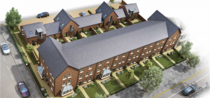 The site will comprise of eight new luxury properties at Lansdowne, central Gosforth, in Newcastle.