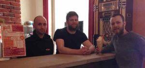 Left to Right: Matthew Madeley, Liam Williamson, Simon Thomas