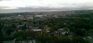 Sheffield View From Royal Hallamshire Hospital