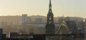 View from Newcastle Buddhist Centre
