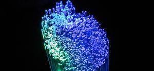 Strand of optical fibers