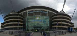 The Etihad Stadium From The Outside