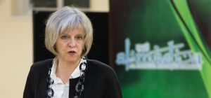 Theresa May visits Al Madina Mosque
