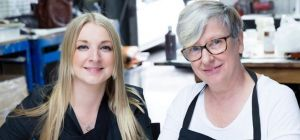 Managing Directors Freya Bass and Judy Bass from The Handbag Spa.