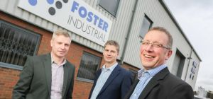 left to right Richard and Charles Foster and Anthony Ashford from Foster Industrial
