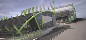Construction on the green energy power plant will begin in January 2016.