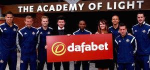 As part of the agreement, the Dafabet name will be emblazoned on the Black Cats' home and away shirt