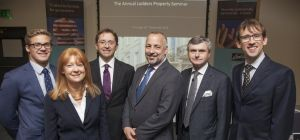 Speakers at law firm Lodders' Annual Property Seminar in Stratford upon Avon