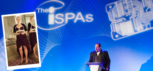 Left: Janni Thornton holds Soho66's ISPA 'Best VoIP' 2014 award. Main: The scene at last year's ISPA