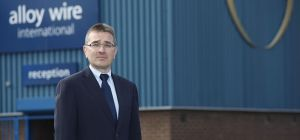 Mark Venables, Managing Director of Alloy Wire International