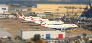 British Airways planes at London Heathrow airport
