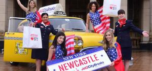 Jet2.com celebrates launch of NYC from NCL