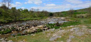 River Wharfe south of Grassington (Yorkshire, England 2016)