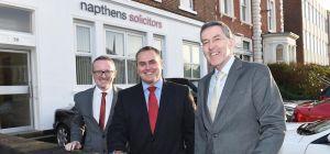L-R: Simon Ainsworth, John Whittingslow and Richard Jacklin