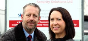 Paul Harris and Joanna Stanley from RedBox Security Solutions Ltd