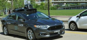 Uber's first driverless car which it is testing on the streets of Pittsburgh. Source: Uber.