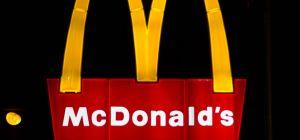 Moon greets McDonald's