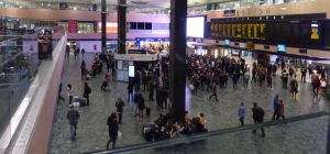 London Euston Station - concourse