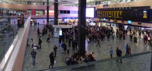 London Euston Station - concourse
