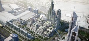 The ONE CENTRAL development masterplan. Image: Dubai World Trade Centre
