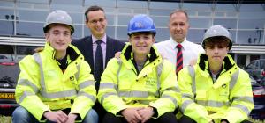 New apprentices at Barratt Developments North East