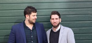 Bookee co-founders Adam Kalmanson and Adam Wilson.