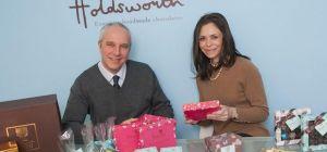Company director Genevieve Sharples (nee Holdsworth) and managing director David Sharples.
