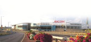 The Ricoh Arena is hosting the Home Grown Expo