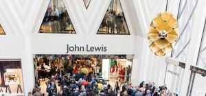 John Lewis Leeds opens its doors to shoppers.