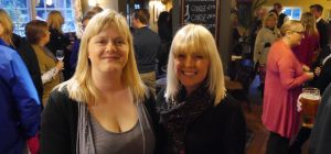 Sue and Anna at the last event at The Mill