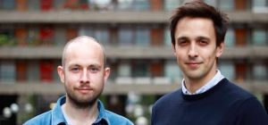 Bricklane.com's founders Tom Cavill and Simon Heawood.