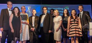 Winners of the North East Accountancy Awards 2016